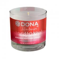 Masažinė žvakė DONA (braškė)